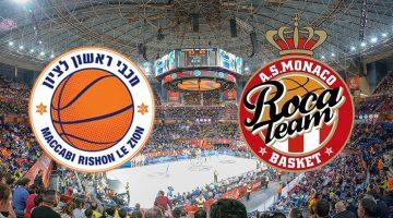 Maccabi Rishon – Monaco: Analiza utakmice
