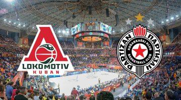 Lokomotiva Kuban – Partizan NIS: Analiza utakmice