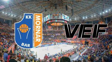 Mornar Bar – VEF Riga: Analiza utakmice
