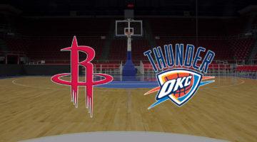 Hoston Rockets vs Oklahoma City Thunder